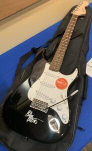 Guitar Autographed by Bob Weir of the Grateful Dead